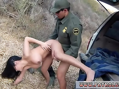 Hot police Stunning Mexican floozie Alejandra Leon tries to help her