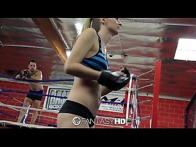 Hd fantasyhd natalia starr wrestles her way into fuck session