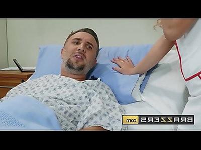 Doctors Adventure Carmen Caliente, Keiran Lee Knobbing The Naughty Nurse
