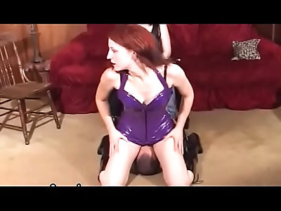 Superb home porn with breasty woman facsitting while wanking cock