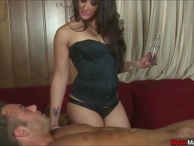 Chad Gets His Dick Tied Up For A Punishing Handjob