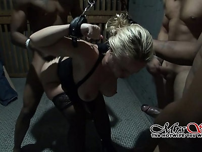 Chained and Gang Banged