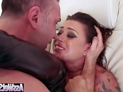 Anal hardcore bang on tape with big ass horny girl eva angelina video