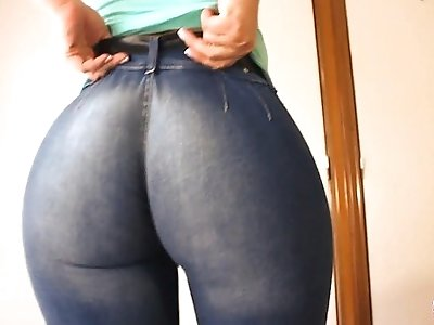 NOMINATED BEST ASS 2014! Bubble Butt In Tight Jeans! Yeah!
