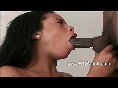 Ebony Deepthroat Compilation Pt
