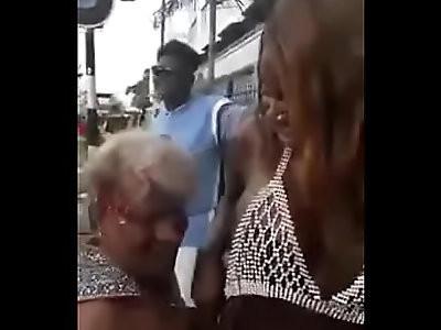 Beautiful ebony dancing