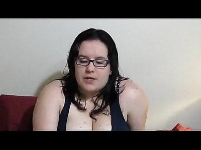 Nicole Jasmine plays with herself then her throat fucked