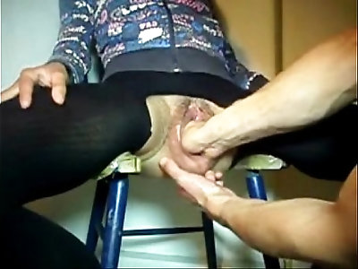 Using and abusing pussy and ass hole of my whore