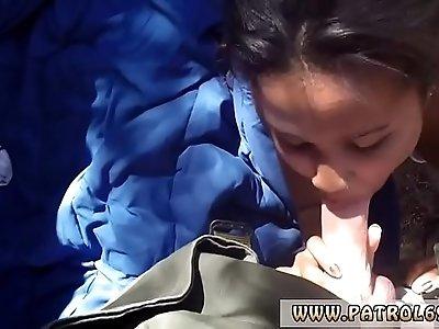 Fake taxi caught by police women xxx Horny border patrol nails Latin
