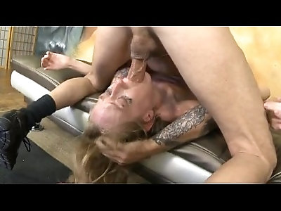 Face Thumping And Holding Head Hard With Skye Avery