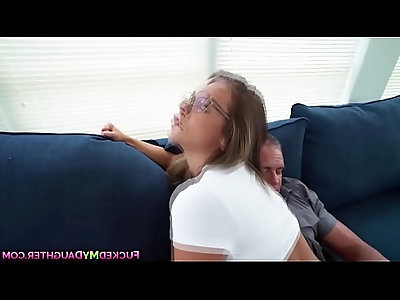 Babe in glasses layla london deserve a hot fuck