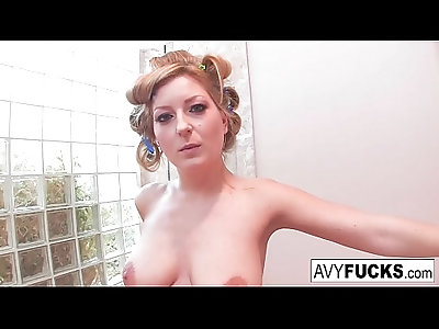 Busty Avy Scott gets her tits fucked by her boy toy Keni Styles