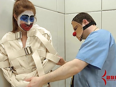 Rose Red turned into anal clown car and humiliated