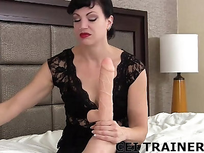 Eat your own cum after you jerk off CEI