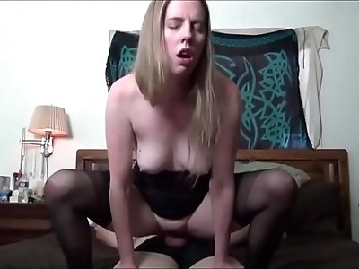Sitting on His Face then his hard Cock