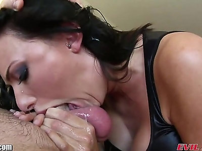 EvilAngel Seductive Sluts Sucking Serious Cock and Balls