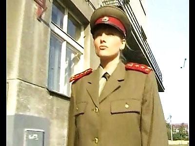Girls in uniform scene