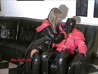 Couple Leather Fetish