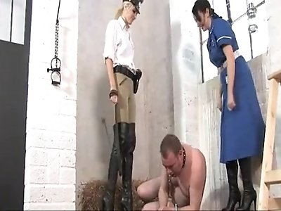 Punished By Nurse In Boots
