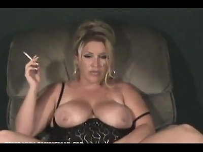 Cassie smokes and talks dirty